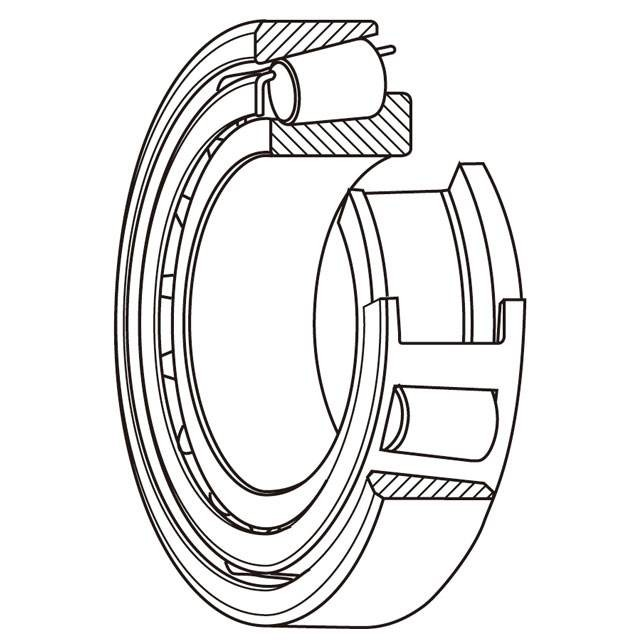 MS27641-20 Aerospace Bearings-Airframe Control