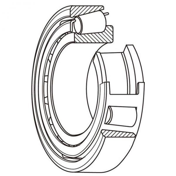 NPB 6306-RS Ball Bearings-6000 Series-6300 Medium #3 image