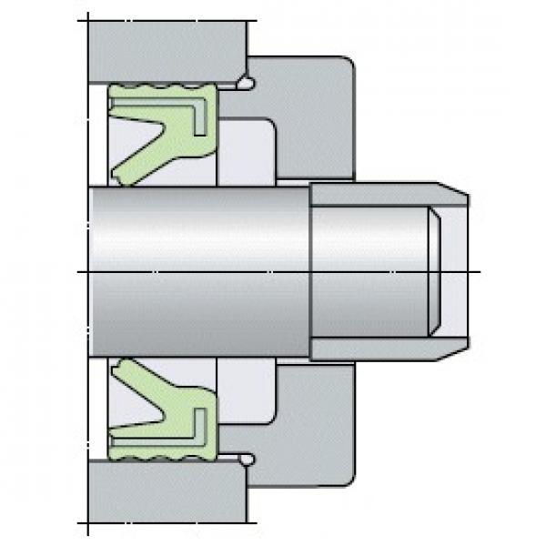 timken TAS 1 1/8 Ball Bearing Housed Units-Fafnir® Pillow Block Units Eccentric Locking Collar #1 image